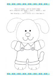 English Worksheets: Help Puppy!