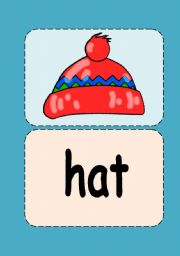 Clothes flashcards (1/3)