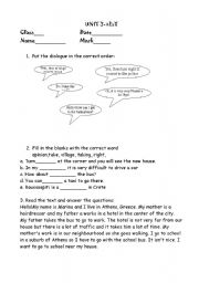 english teaching worksheets describing places. Black Bedroom Furniture Sets. Home Design Ideas
