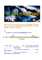 PAST SIMPLE VS PRESENT PERFECT : it´s all about timelines! ;O)