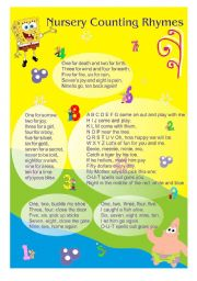 Nursery Counting Rhymes