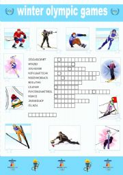 english teaching worksheets olympic games. Black Bedroom Furniture Sets. Home Design Ideas