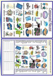 English Worksheets: Compound Nouns (2/2)