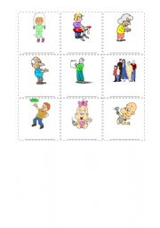 English Worksheets: Actions for kids