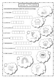 english teaching worksheets the weather. Black Bedroom Furniture Sets. Home Design Ideas