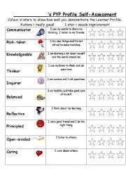 English Worksheets: PYP PROFILE