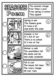 SEASONS POEM