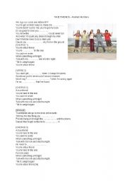 English Worksheets: True Friends - Hannah Montana