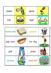English words I know domino. Part 2/6