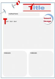 English Worksheets: Template 8