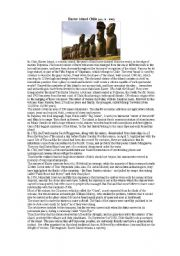 English Worksheet: superlatives 2- wonders of the world