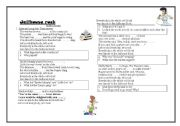 English Worksheet: Elvis Presley´s jailhouse rock