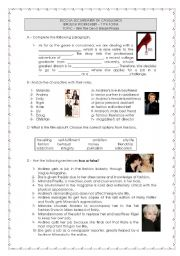 English Worksheet: The Devil wears Prada