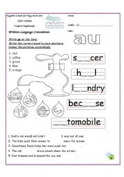 Au Aw Sound Worksheets As Well As Vowel Team Worksheets Also Oi Oy ...