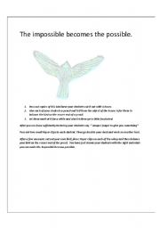 English Worksheets: FUN TASK THAT TEACHES A VALUABLE LESSON