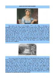 Jane Austen´s Biography