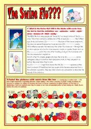 What is the swine flu?(keys)
