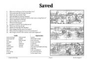 English Worksheets: Saved