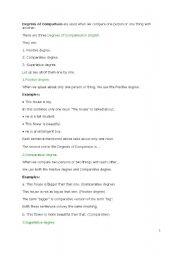 English Worksheets: comparision