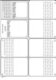 English Worksheets: Minibook template [ Fully editable ]