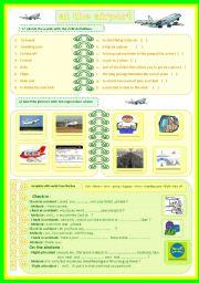 English Worksheets: at the airport