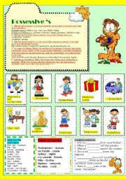 English Worksheets: Possesive s