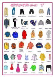 Clothes (editable)