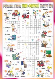 English Worksheet: Phrasal Verbs (Seventh series). Crossword (Part 3/3)