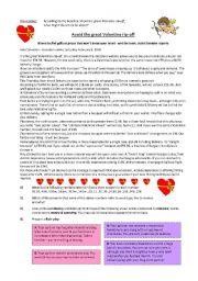 English Worksheet: Valentine rip-off