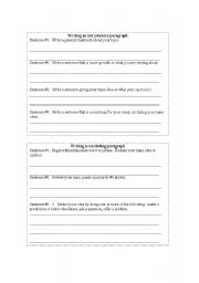 english worksheets introductory concluding paragraphs template. Black Bedroom Furniture Sets. Home Design Ideas