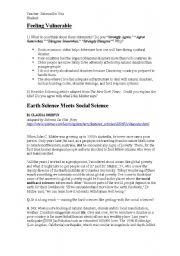 English Worksheets: Haiti crisis