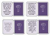 English Worksheets: Moral Dilemmas Game