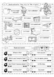 Revision exercises for young learners