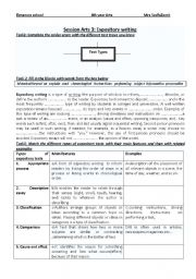 English Worksheets: expository texts