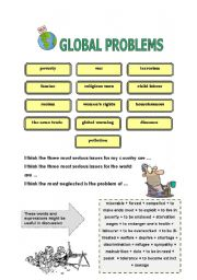 English worksheets conversation resources worksheets page 167 global problems vocabulary speaking sciox Choice Image