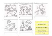 English Worksheet: Read and learn Baa,baa black sheep