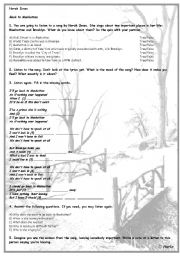 English Worksheet: Norah Jones