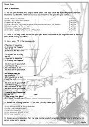 English Worksheets: Norah Jones