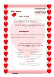 English Worksheet: Valentine´s Day. 4 skills / 7 pages