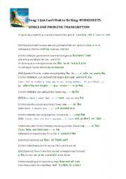English Worksheet: Lion King.