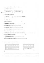 English Worksheet: Verb to be VS linking verbs and Verb to do