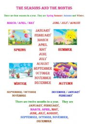 SEASONS AND MONTHS ( RE )