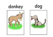 English Worksheets: animals set 1