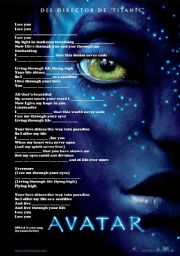 English Worksheet: I see you (official soundtrack of AVATAR by Leona Lewis) (Quiz)