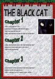 English Worksheets: THE BLACK CAT