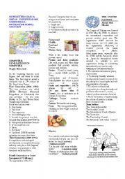 English Worksheets: How to make a newslatter: Students� Newslatter