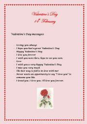 Valentines Day  worksheet by trinity69