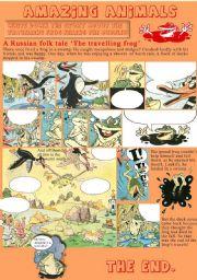 English Worksheets: Amazing animals
