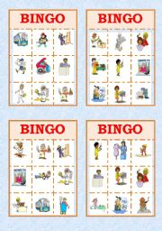 Job Bingo!!
