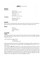 English Worksheet: Preparing kids to pass the Trinity Exam- Grade 1. Unit 2